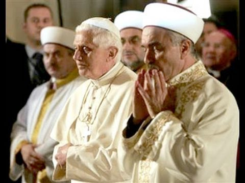 Vatican II Sect Worships Allah - Non-Catholic, Freemasonic Religion of Man.