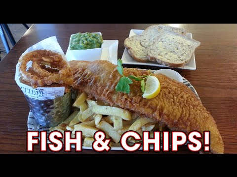 Harry Ramsden's Fish And Chips Challenge!!