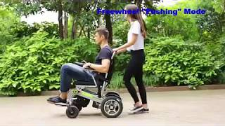 Motorized Wheelchair - Automatic Folding and Unfolding - Foldamatic