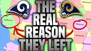 THE TRUTH Behind Why the St. Louis Rams Really MOVED to LA