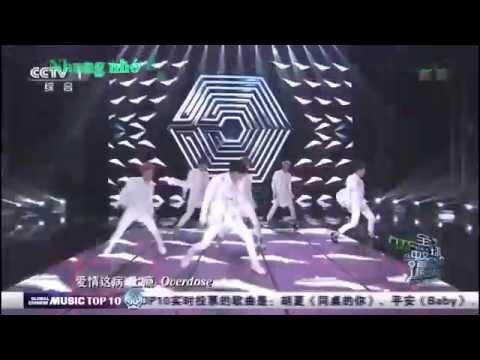 [vietsub]EXO- M - Overdose [Live HD - 1080p]