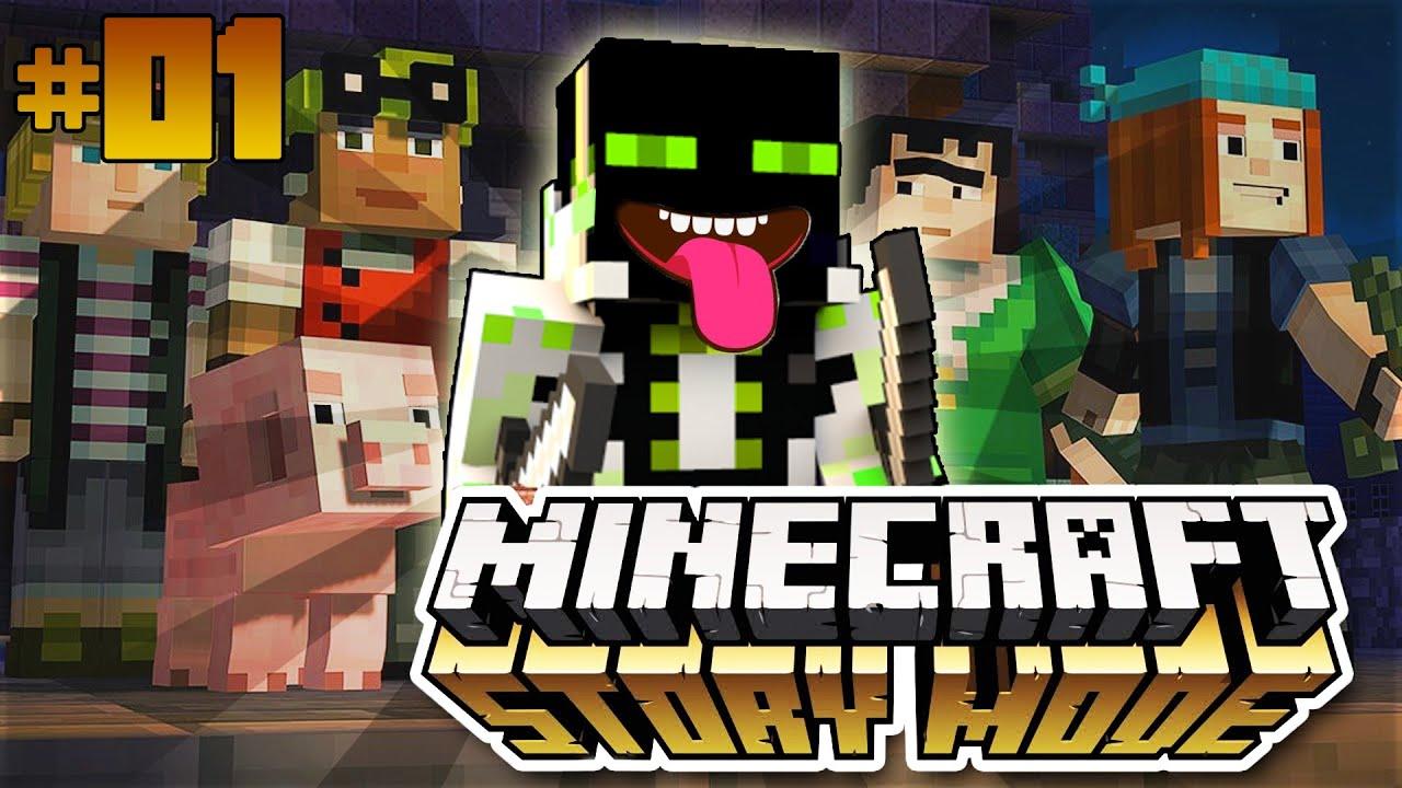 Das ROMAN GUSTAV ADVENTURE Minecraft Story Mode Deutsch - Youtube minecraft deutsch spielen