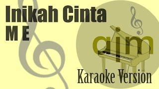 Download lagu ME Inikah Cinta Karaoke Version Ayjeeme Karaoke MP3
