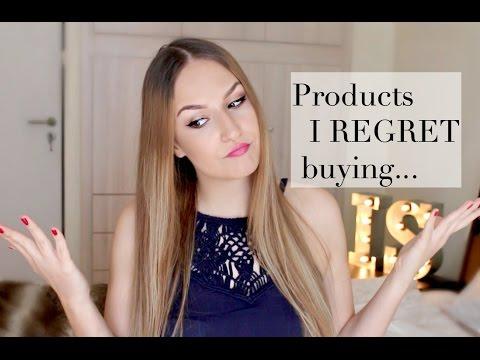 Products I REGRET buying | Empties | Ioanna Samara