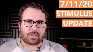Stimulus Update 7/11/20: Second Stimulus Less Than $1,200?