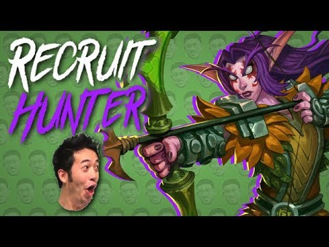 RECRUIT HUNTER FEELS GOOD - Standard Constructed - The Witchwood