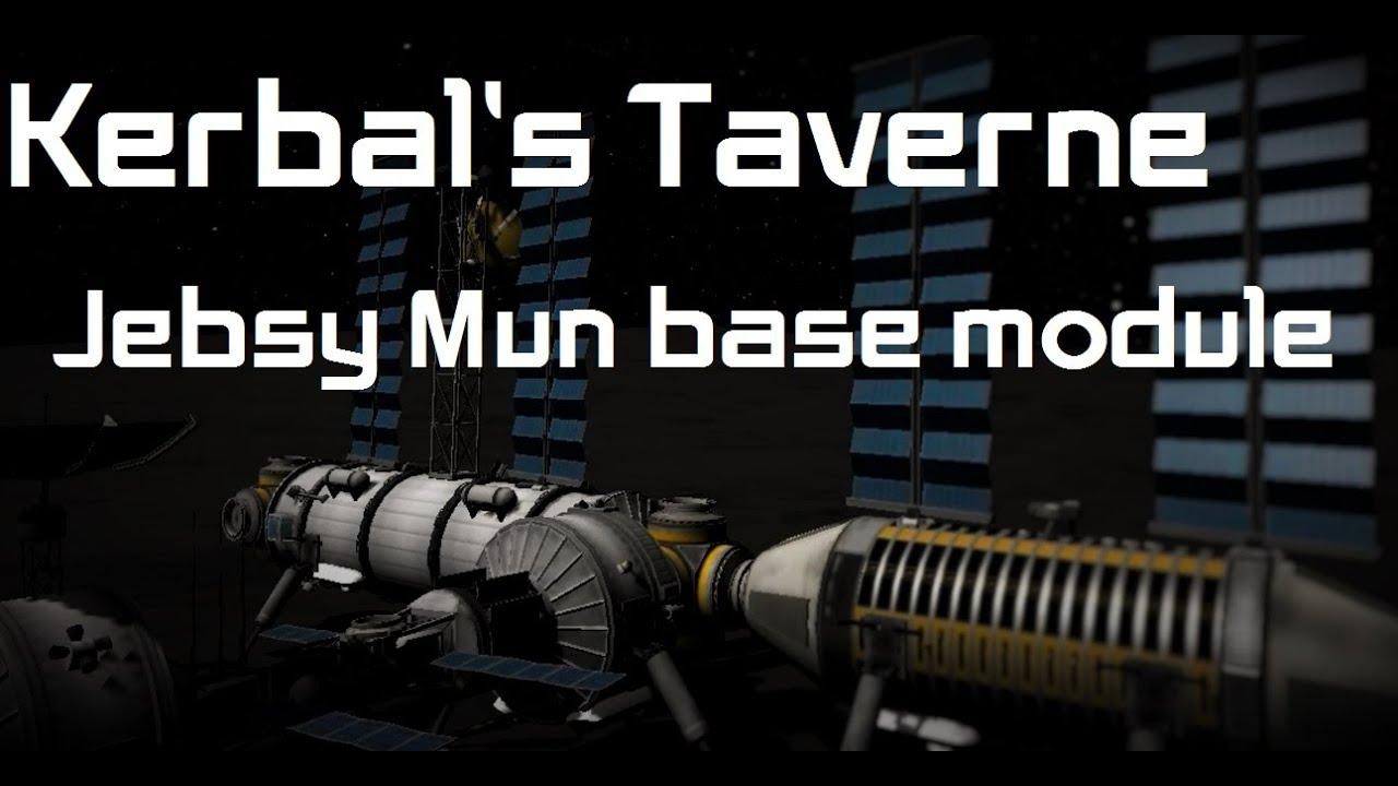 Kerbal's taverne - Jebsy Mun base module