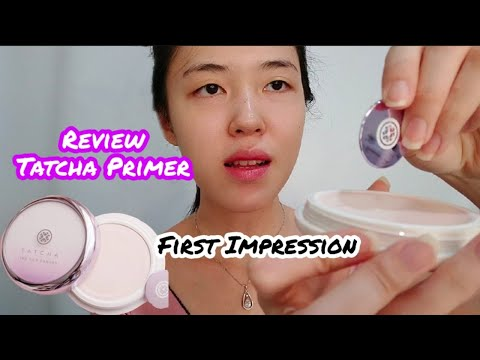 REVIEW TATCHA THE SILK CANVAS PRIMER