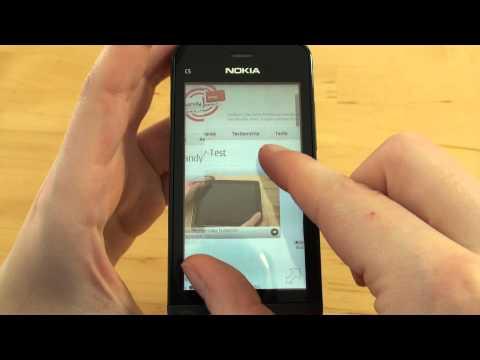 Nokia C5-03 Test Internet