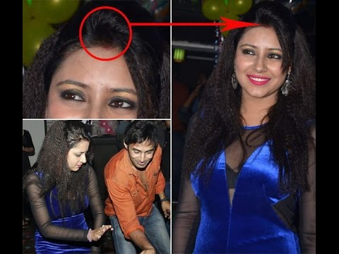 Download Pratyusha Banerjee spotted wearing sindoor on her birthday bash