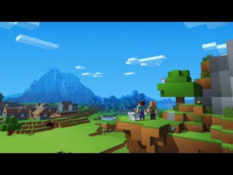 Randomly playing Minecraft Bedrock then on Java again