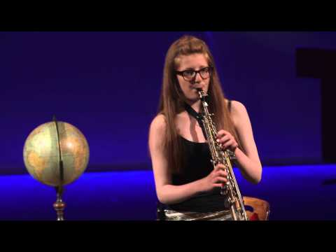 BBC 2014 Young Saxophonist of the Year | Saxophonist Jess Gillam | TEDxLiverpool