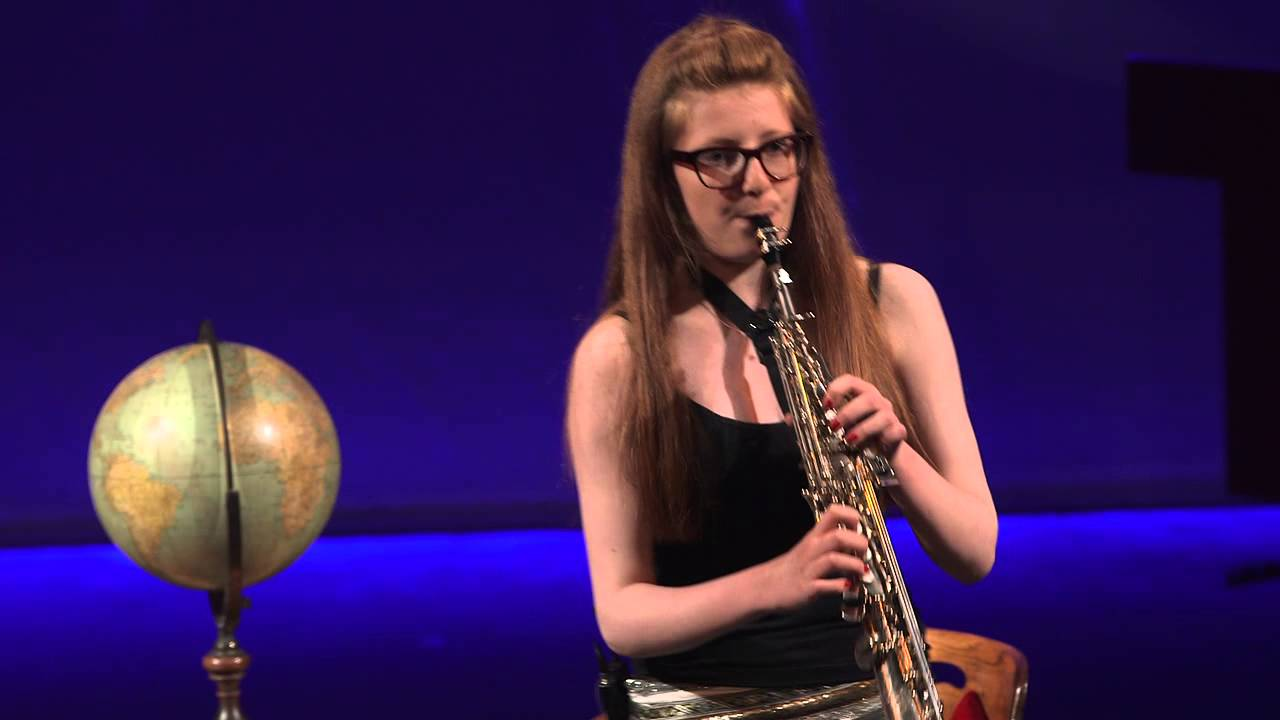 Bbc 2014 Young Saxophonist Of The Year Jess Gillam