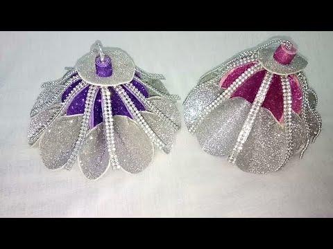DIY Glitter Foam Sheet Ornament Making    Christmas Tree 🎄 Decoration    part 2 - YouTube