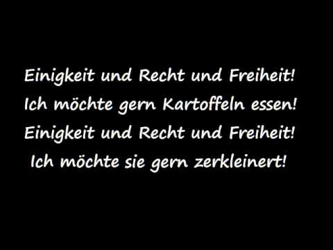 Ore wa doitsu sei - GERMAN LYRICS KARAOKE INSTRUMENTAL VERSION