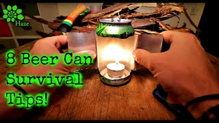 8 Survival Tips With A Beer Can