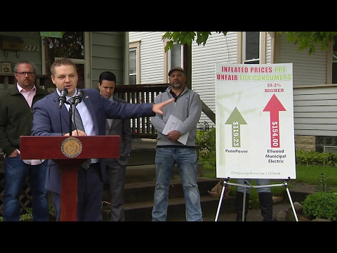 Press Conference on Municipal Electric Fairness