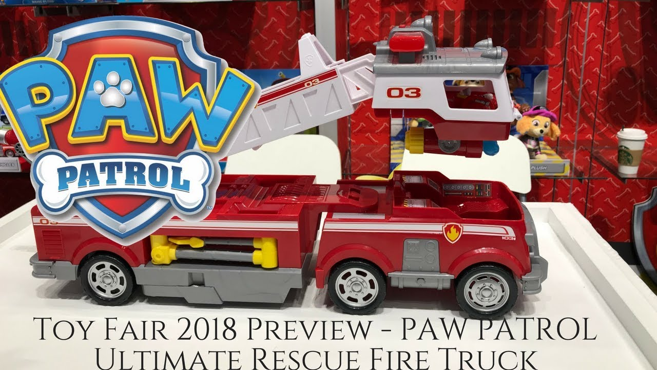 PAW PATROL Ultimate Rescue Fire