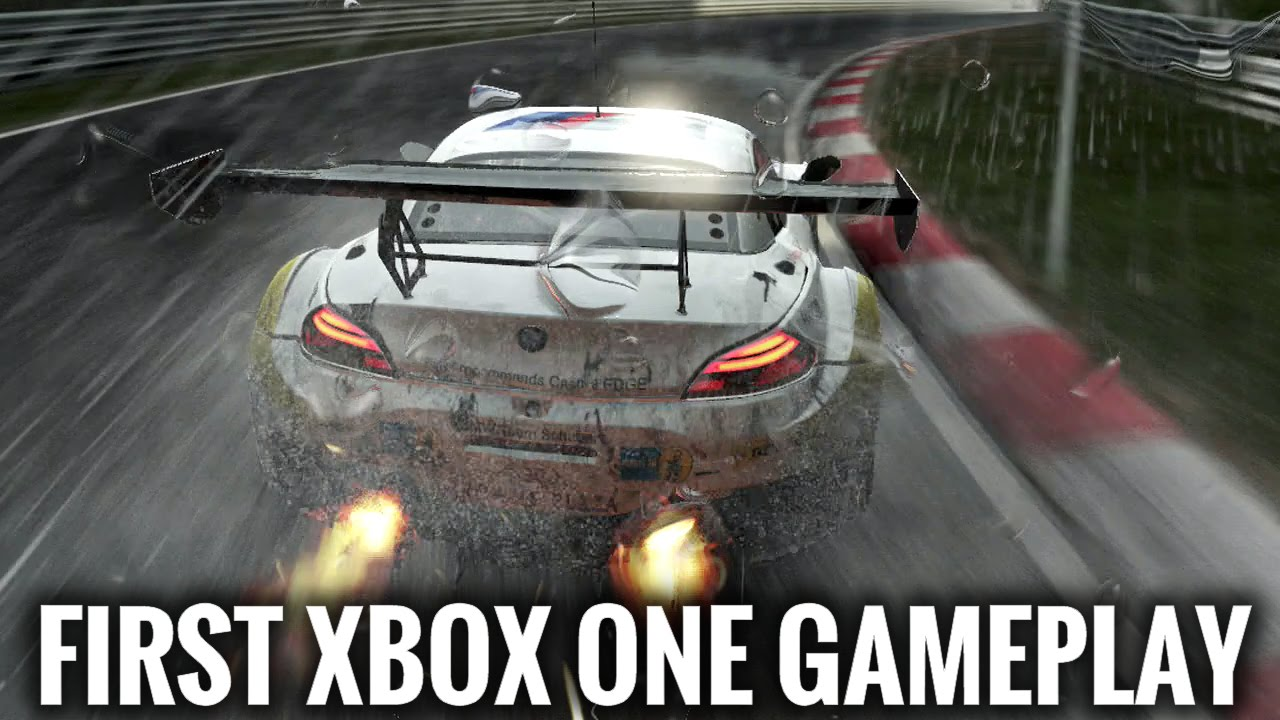 Project CARS Xbox One Gameplay - First Xbox Gameplay 1080p HD - YouTube