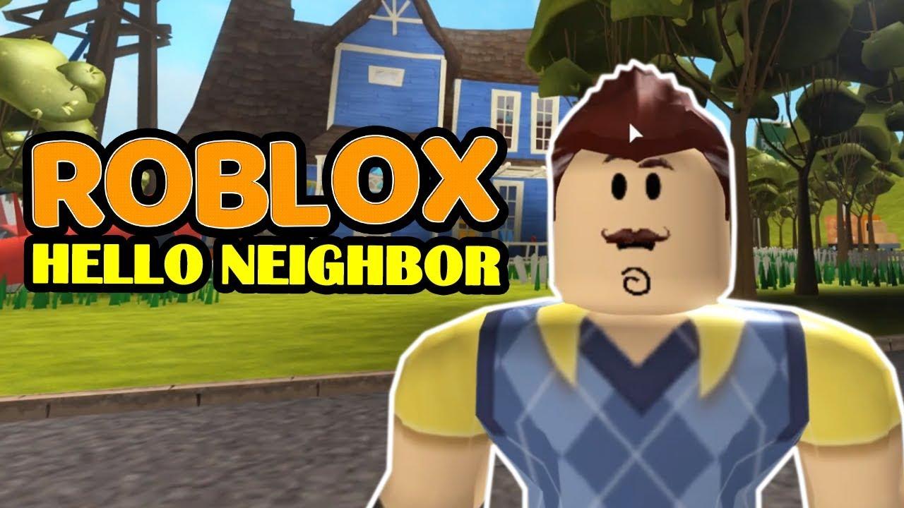 Hello Neighbor Act 1 Roblox Hello Neighbor Youtube