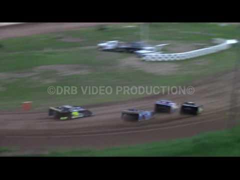 Hidden Valley Speedway Super Late Model Heat 2 of 3 5-11-19