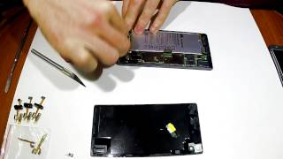 Как разобрать Huawei P7 Disassembly