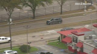 Police chase in northwest Houston