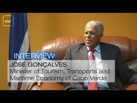José Gonçalves, Minister of Tourism, Transports and Maritime Economy of Cabo Verde