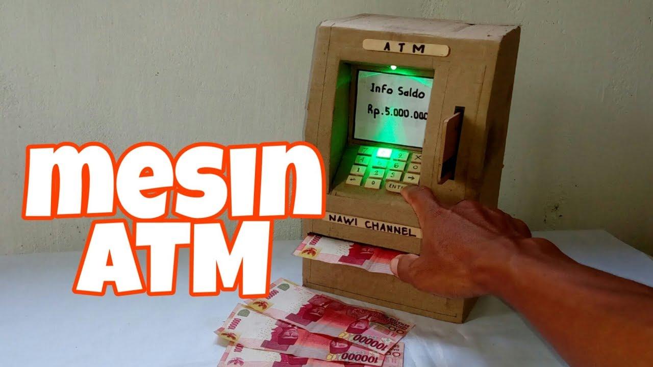 Cara Membuat Mesin ATM Dari Kardus