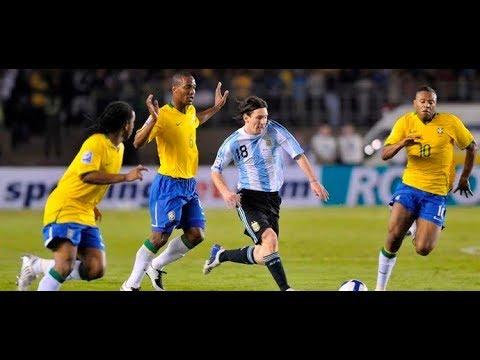 Eliminatorias Copa 2010 Brasil x Argentina Jogo Completo - YouTube 7c097775d6835