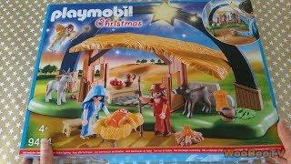 LASTENOHJELMIA SUOMEKSI - Playmobil Christmas - Jouluseimi setin avaus