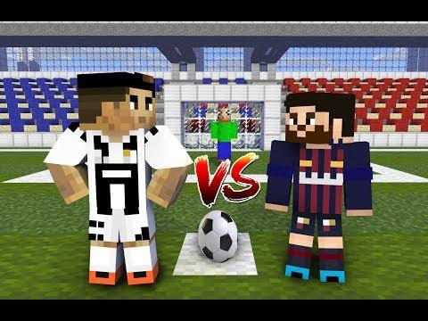 Monster School : Penalty Shoots (ft. Cristiano Ronaldo, Leo Messi, Baldi)