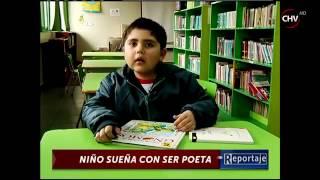 Niño quiere ser poeta - CHV