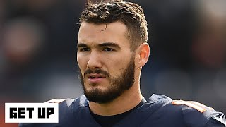 The Bears commit to Mitchell Trubisky as 2020 starting QB | Get Up