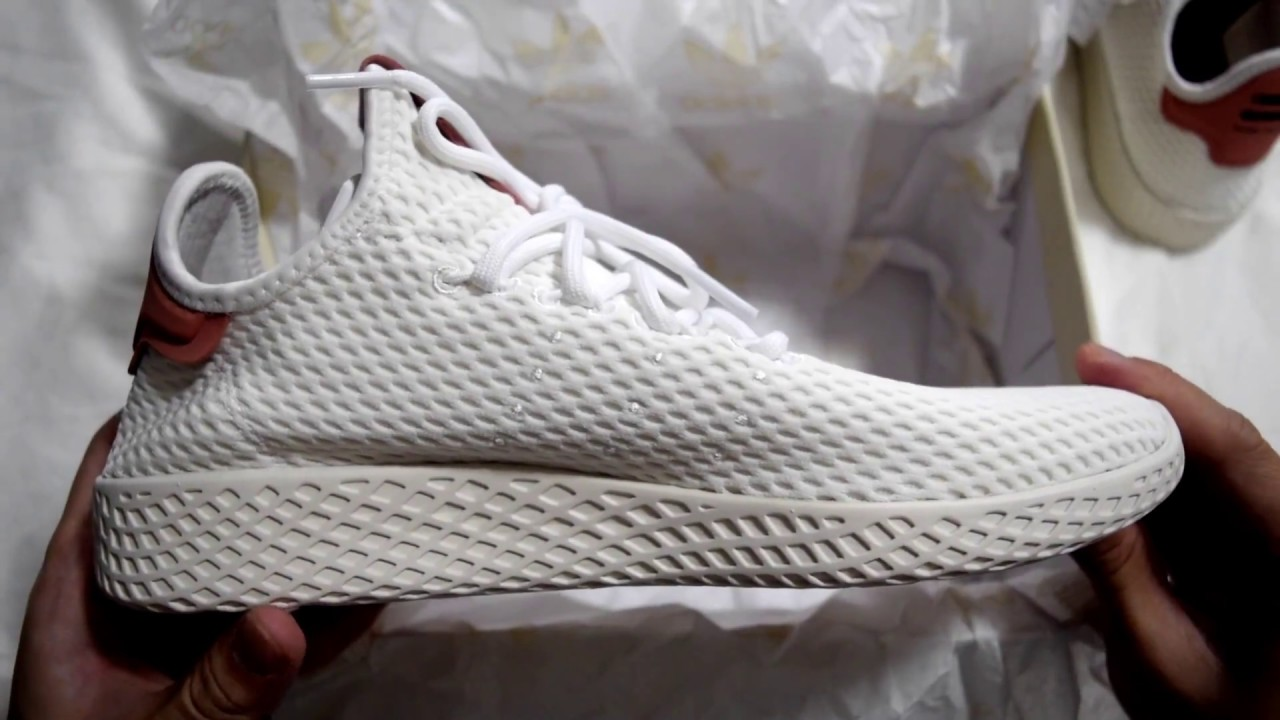 new product ee244 d33c0 Whazz in The Box?!? - Adidas x Pharrell Williams Tennis Hu (White ...