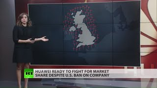 Huawei's strong response against US in Davos