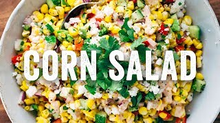 Mexican Street Corn Salad Recipe