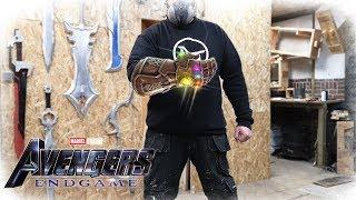 Casting THANOS Infinity Gauntlet - (Avengers: Infinity War)