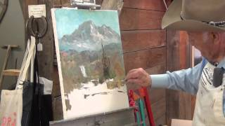 Art Lessons (1-6) Combined Into One Painting By Fred Oldfield