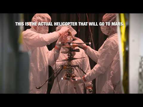 NASA Chopper Ready for a Spin on Mars