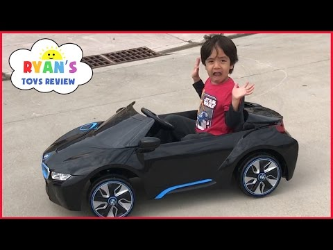 Thumbnail: Power Wheels Ride on Cars for Kids BMW Battery Powered Super Car 6V Unboxing Playtime Fun Test Drive