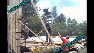видео Каркасные дома без отделки