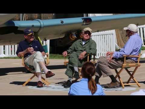 David Hartman interviews Apollo 8's Frank Borman and Jim Lovell at Oshkosh, 2017, pt. 3