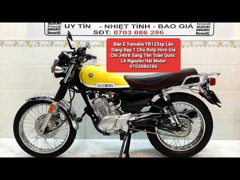 (Đã Bán)Bán E Yamaha  YB 125Sp 1 Chủ Bstp Odo 9k Chuẩn.Chỉ 34tr8  Lh Nguyễn Hải Motor 0703086286.
