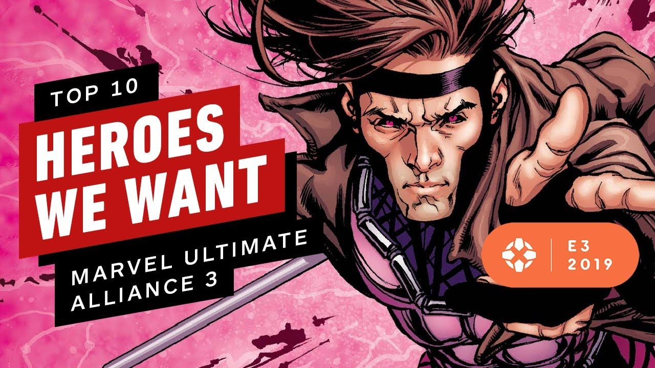 10 Helden, die wir in Marvel Ultimate Alliance 3 wollen: Der Schwarze Orden - E3 2019 + video