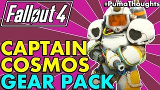 Fallout 4 Creation Club: Captain Cosmos Power Armor and Cosmic Cannon Analysis/Review #PumaThoughts