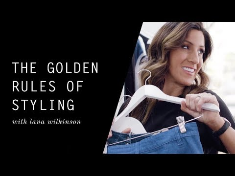 The Golden Rules of Styling