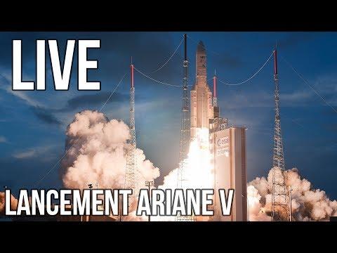 [LIVE] Lancement Ariane V VA242 commenté FR
