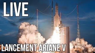 [REPLAY LIVE] Lancement Ariane V VA242 commenté FR