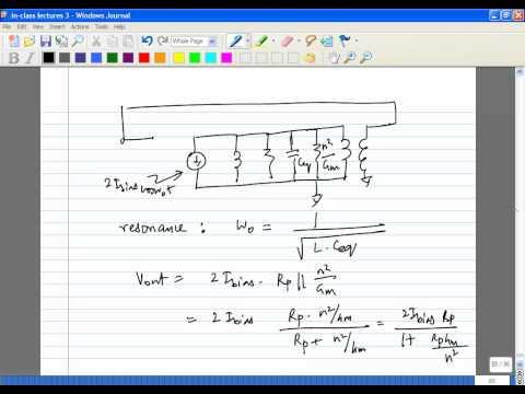 Lecture 29   VCOs   3 Colpitts Oscillator, Quadrature Oscillators